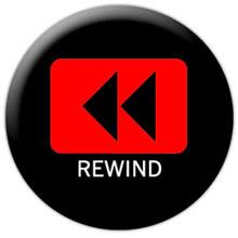 disegno del tasto rewind con le due frecce verso sinistra