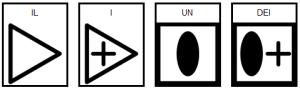 Simboli ARASAAC per gli articoli determinativi e indeterminativi